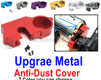 Wltoys 124019 Upgrade Metal Anti-Dust Cover Parts.