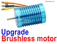 Wltoys 124019 Upgrade Brushless Motor. Steel material is harder and more wear-resistant.