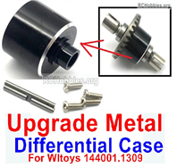 Wltoys 124019 Upgrade Metal Differential Case. For the 124019.1309.
