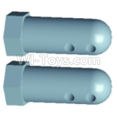 Wltoys 12403-0230 Front Column for the Car canopy(2pcs),Wltoys 12403 Parts