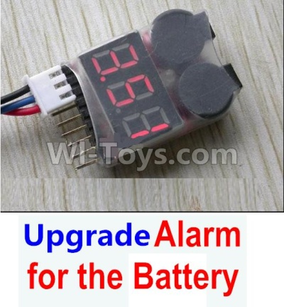 Wltoys 12403 Upgrade Alarm for the Battery,Can test whether your battery has enouth power
