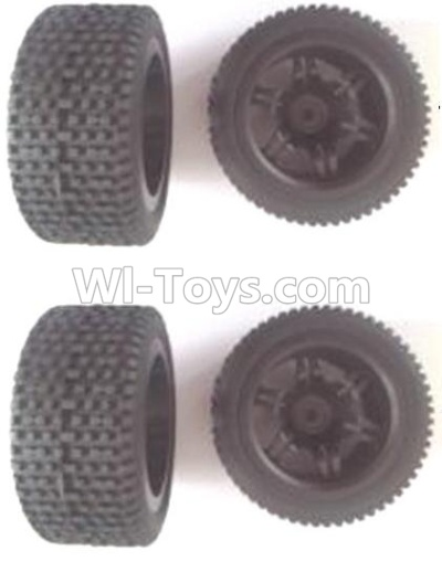 Wltoys 12403 Front and Rear wheel unit(Total 4pcs),Wltoys 12403 Parts