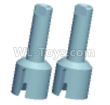 Wltoys 12409 RC Car Parts-Middle Cup Parts-(φ10X25mm)-2pcs-12401.0263,Wltoys 12409 Parts
