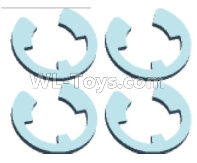 Wltoys 12409 RC Car Parts-E-type Buckle Parts(4pcs)-12401.0276,Wltoys 12409 Parts