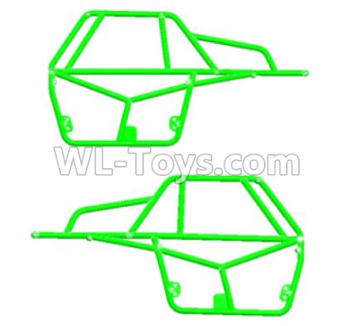 Wltoys 12409 RC Car Parts-Left and Right Rollcage-12409.0569,Wltoys 12409 Parts