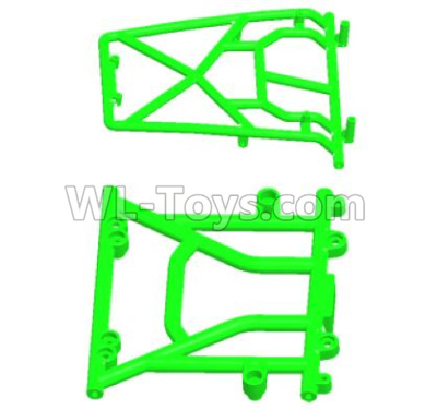 Wltoys 12409 RC Car Parts-Front Car head and Top Rollcage-12409.0570,Wltoys 12409 Parts