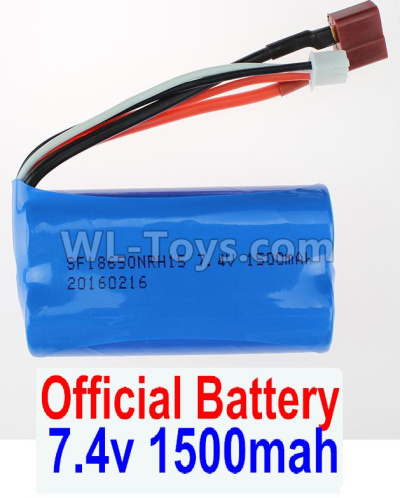 Wltoys 12409 RC Car Parts-Battery Parts-7.4V 1500MAH-18650 Battery(1pcs)-12428.0123,Wltoys 12409 Parts