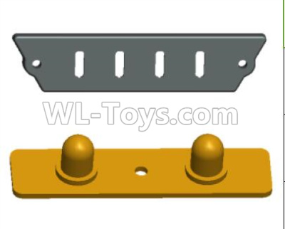 Wltoys 12409 RC Car Parts-Front lamp cover assembly-12409.0575,Wltoys 12409 Parts