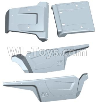 Wltoys 12409 RC Car Parts-Car shell-12409.0577,Wltoys 12409 Parts