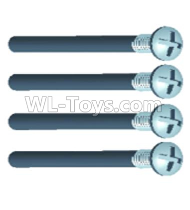 Wltoys 12409 RC Car Parts-0241 Pan head screws(4PCS)-M3X13PMO,Wltoys 12409 Parts