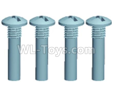 Wltoys 12409 RC Car Parts-0242 Pan head screws(4PCS)-M3X25,Wltoys 12409 Parts