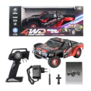 Wltoys 12423 RC Car 1:12 RC Car, 1/12 4WD remote control cross-country rock crawler with big wheels,50km/h