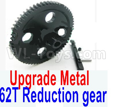 Wltoys 12428-A RC Car Upgrade Metal 62T Reduction gear,Wltoys 12428-A Parts