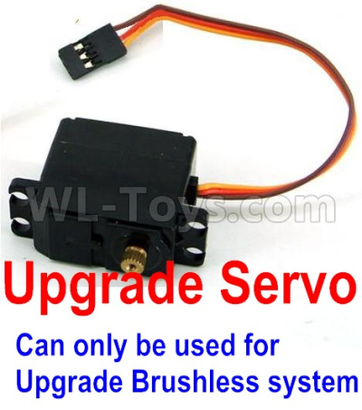Wltoys 12428-A RC Car Upgrade Servo(Can only be used for Upgrade Brushless set),Wltoys 12428-A Parts