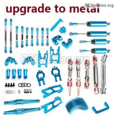 Wltoys 12427 Upgrade All Metal parts assembly,Metal Crash set