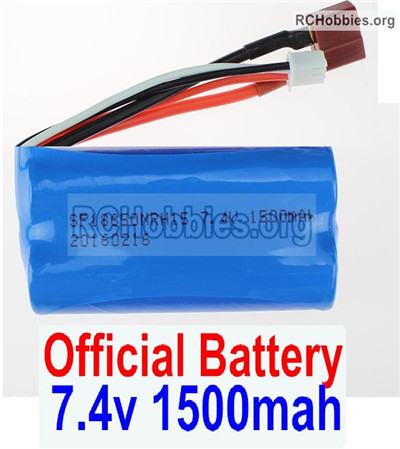 Wltoys 12427 Battery Parts. 7.4V 1500mah Battery(1pcs). 12427-00123