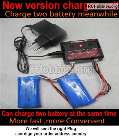 Wltoys 12428 Upgrade version charger and Balance charger Parts. 12428-00124