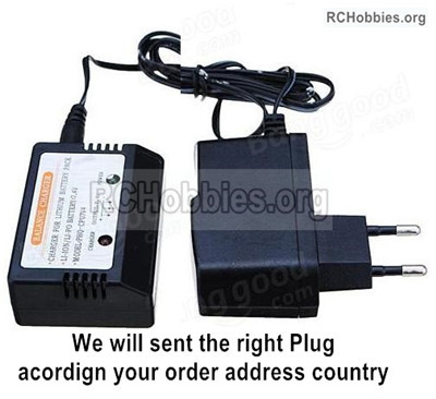 Wltoys 12427 charger and balance charger Parts. 12427-00124-Official-(Can charge 1 battery at the same time)