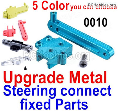 Wltoys 12428 Upgrade Metal Steering connect fixed Parts. 12428-0010