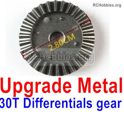 Wltoys 12428 Upgrade Metal 30T Differentials gear Parts. 12428-0011