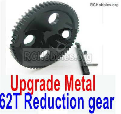 Wltoys 12427 Upgrade Metal 62T Reduction gear Parts. 12427-0015