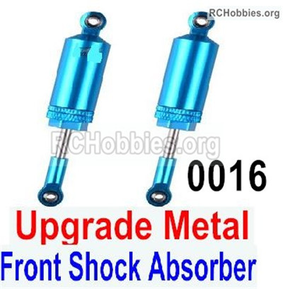 Wltoys 12427 Upgrade Metal Front Shock Absorber Parts. Total 2pcs. 12427-0016