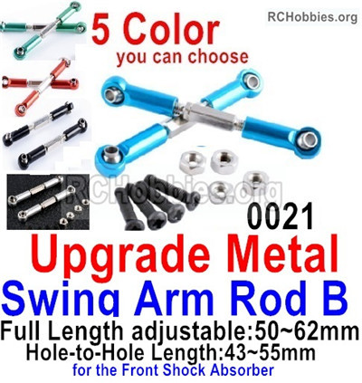 Wltoys 12427 Upgrade Metal Swing Arm B Parts. 12427-0018