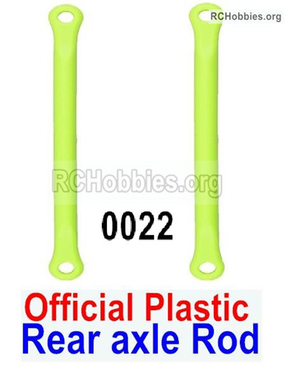 Wltoys 12428 Rear axle Rod Parts. Total 2pcs. 12428-0022,Official Plastic materials