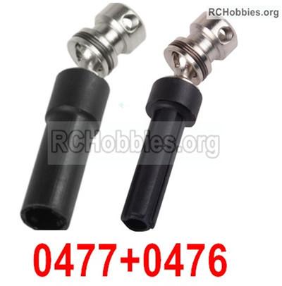 Wltoys 12428 Rear drive shaft Parts + Rear Drive Sleeve. 12428-0477+0476,Total 2 set