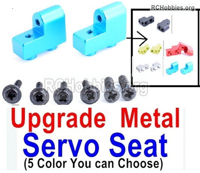 Wltoys 12427 Upgrae Metal Servo Seat Parts.