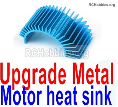 Wltoys 12427 Upgrade Metal Motor heat sink Parts.