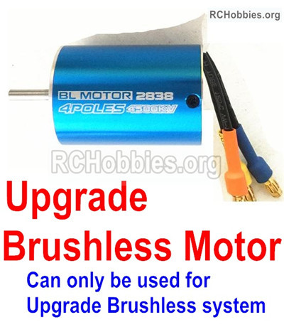 Wltoys 12428 Upgrade Brushless motor Parts, the Motor shaft diameter is 3.2mm.