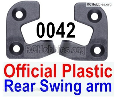 Wltoys 12427 C-Seat Parts. 12427-0042,Positioning piece for the Left and Right Rear Swing arm. Total 2pcs.