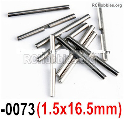 Wltoys 12427 Differential shaft Parts. 12427-0073,Size:1.5x16.5mm-10pcs