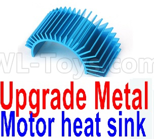 Wltoys 12428-A RC Car Upgrade Metal Motor heat sink
