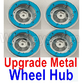 Wltoys 12428-A RC Car Upgrade Metal Wheel hub(4pcs)-Not include the Tire lether