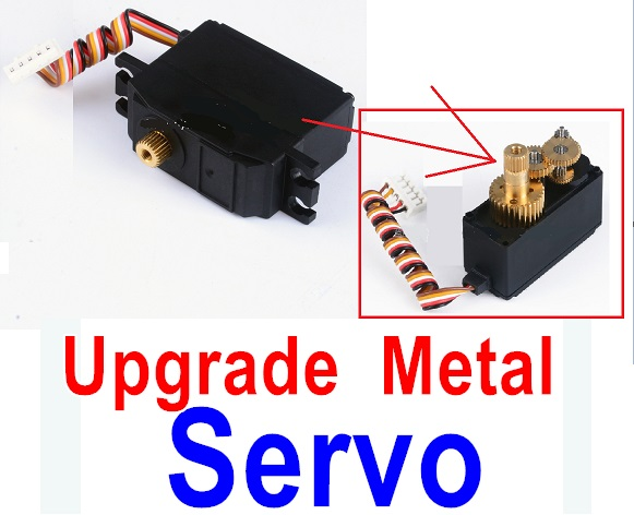Wltoys 12428-A RC Car Parts-12428A Upgrade Metal Servo Parts