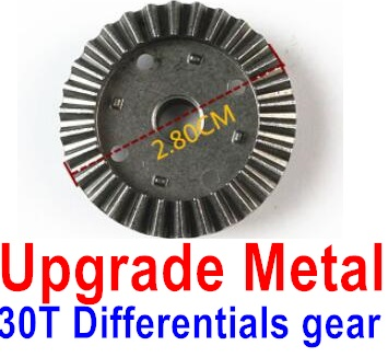 Wltoys 12428-A RC Car Upgrade Metal 30T Differentials gear,Wltoys 12428-A Parts