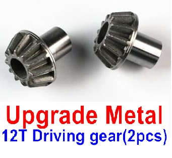 Wltoys 12428-A RC Car Upgrade Metal 12T Driving gear(2pcs),Wltoys 12428-A Parts