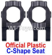 Wltoys 12428-A RC Car Parts-Plastic C-Shape Seat(2pcs)-Black,Wltoys 12428-A Parts