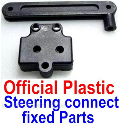 Wltoys 12428-A RC Car Parts-Steering connect rod & Positioning seat,Wltoys 12428-A Parts