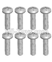 Wltoys 12428-A RC Car Parts-Cross recessed pan head screws(8PCS)-M2.5X10 PM,Wltoys 12428-A Parts