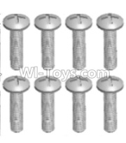 Wltoys 12428-A RC Car Parts-Cross recessed pan head screws(8PCS)-M2X8 PM,Wltoys 12428-A Parts