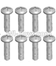 Wltoys 12428-A RC Car Parts-Cross recessed pan head screws(8PCS)-M2X10 PM,Wltoys 12428-A Parts