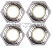 Wltoys 12428-A RC Car Parts-M4 Anti loose nut(4PCS),Wltoys 12428-A Parts