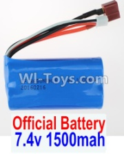 Wltoys 12428-A RC Car Parts-Battery Parts-Battery Parts-7.4V 1500MAH 15C 18650 Battery(1pcs),Wltoys 12428-A Parts
