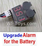 Wltoys 12428-A RC Car Upgrade Alarm for the Battery,Can test whether your battery has enouth power,Wltoys 12428-A Parts
