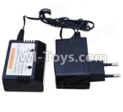 Wltoys 12428-A RC Car Parts-charger and balance charger(Can charge 1 battery at the same time),Wltoys 12428-A Parts