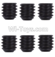 Wltoys 12428-A RC Car Parts-M4 Machine screws(M4X4)-5pcs,Wltoys 12428-A Parts