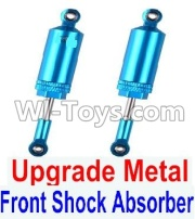 Wltoys 12428-A RC Car Upgrade Front Metal Shock Absorber(2pcs),Wltoys 12428-A Parts